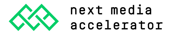 Logo of Next Media Accelerator